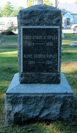 Olive Rebecca <i>Cooper</i> Ripley