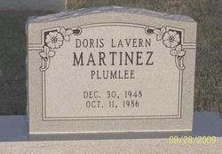 Doris Lavern <i>Youell</i> Martinez Plumlee