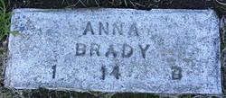 Anna M C <i>Ness</i> Brady