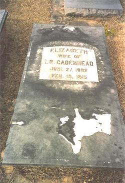 Elizabeth <i>Lawrence</i> Cadenhead