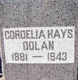 Cordelia <i>Hays</i> Dolan