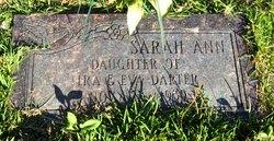 Sarah Ann Darter
