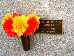 Elizabeth <i>Byrnes</i> Sanders