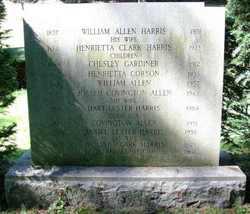 Henrietta Corson <i>Harris</i> Allen