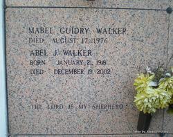 Mabel <i>Guidry</i> Walker
