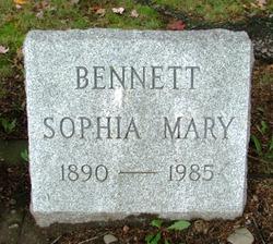 Sophia Mary Bennett