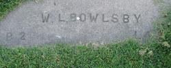 W. L. Babe Bowlsby