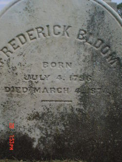 Frederick Bloom