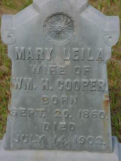Mary Leila Cooper