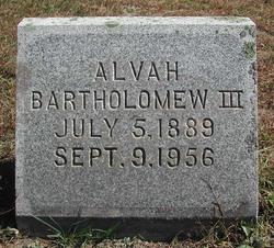 Alvah Bartholomew, III