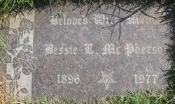 Bessie L <i>Phillips</i> McPherson