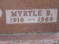 Myrtle Bertha <i>Wickman</i> Davis
