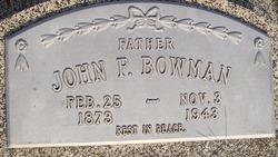 John F Bowman