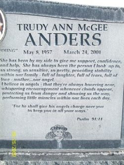 Trudy Ann <i>McGee</i> Anders