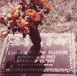 SMN Charlie Melvin Ellison