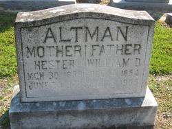 Hester <i>Powell</i> Altman