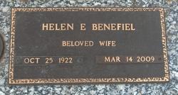 Helen E. <i>Clements</i> Benefiel