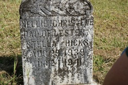 Nellie Christene Christie Hicks