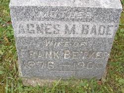 Agnes M <i>Bade</i> Betker