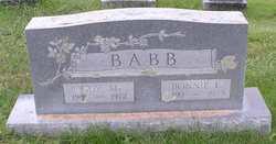 Bonnie E <i>Saylor</i> Babb