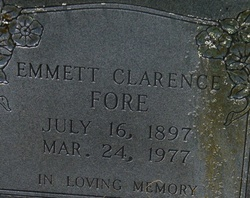Emmett Clarence Fore