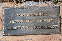 Mary Nadine <i>Sullivan</i> Barbee