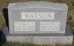 Dorothy E Watson
