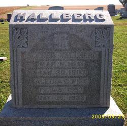 Alidia C <i>Falk</i> Hallberg