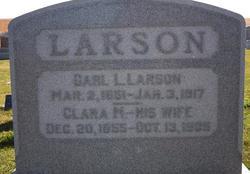Clara M <i>Falk</i> Larson