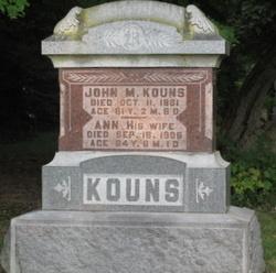 John M Kouns, I