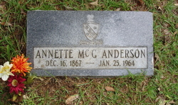 Annette <i>McConnell</i> Anderson