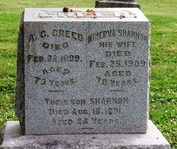 Minerva <i>Shannon</i> Creed