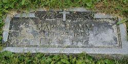 Mary D. <i>Fizer</i> Hamm