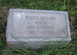 Minnie <i>Wieland</i> Bowersox