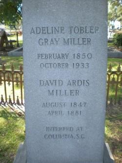 Adeline Tobler Gray <i>Miller</i> Miller