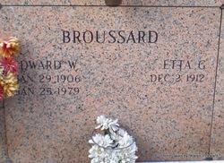 Edward William Broussard
