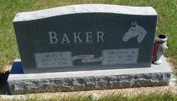 Orvin F Baker