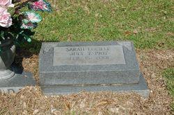 Sarah Lucille <i>Jones</i> Clark