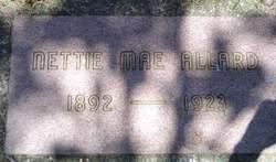 Nettie Mae <i>Metcalf</i> Allard