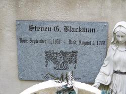 Steven G Blackman