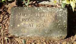 Maude O. Balding
