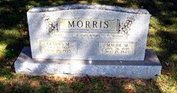 Maude May Maudie <i>Burris</i> Morris