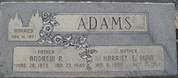 Harriet Emeline <i>Burr</i> Adams