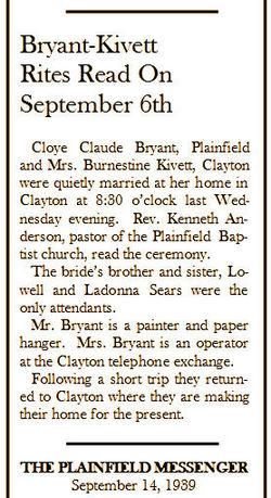 Claude Cloye Bryant