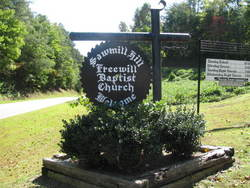 Sawmill Hill Freewill Baptist Church Cemetery