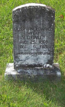 Debby Jane <i>Edwards</i> Bailey