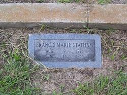 Francis Marie Statham