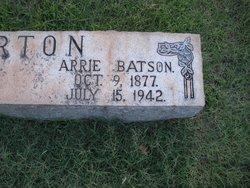 Arrie <i>Batson</i> Barton