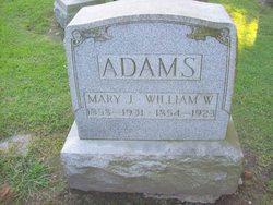 Mary Jane <i>Parks</i> Adams