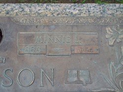 Minnie Louise <i>Anderson</i> Bergeson